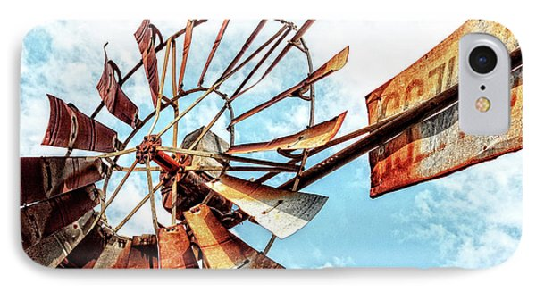 Rusted Windmill IPhone Case