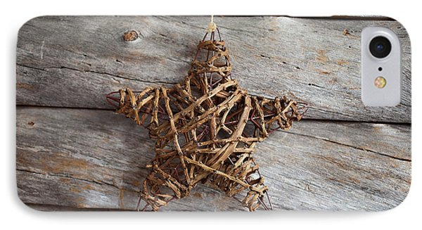Rustic Star IPhone Case by Kati Molin