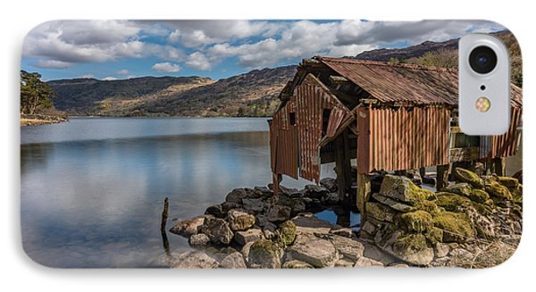 Rusty Boathouse IPhone Case by Adrian Evans