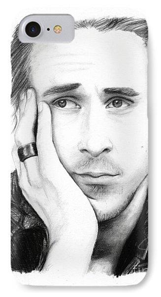 Ryan Gosling Phone Case by Rosalinda Markle
