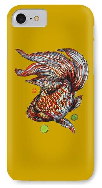Ryukin Goldfish IPhone Case by Shih Chang Yang
