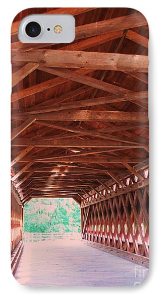 Sachs Bridge IPhone Case by Eric  Schiabor