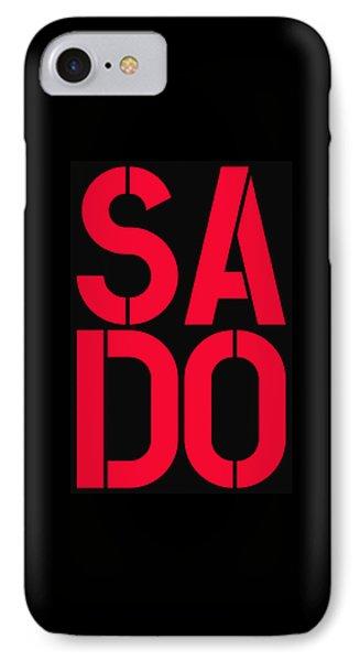 Sado IPhone Case by Three Dots