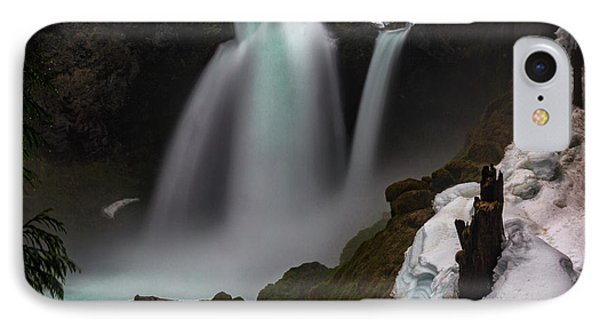 IPhone Case featuring the photograph Sahalie Falls by Cat Connor