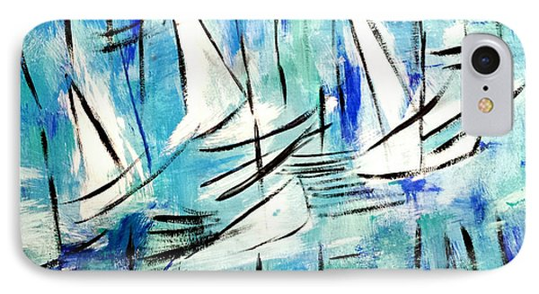Sailing Blue IPhone Case