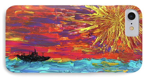Sailing From The Sun Phone Case by Erik Tanghe