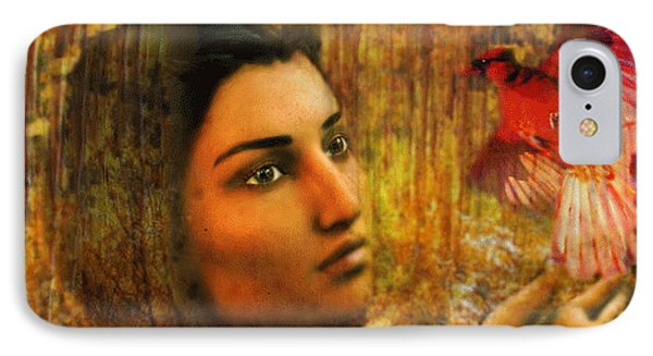 IPhone Case featuring the painting Saint Kateri by Suzanne Silvir