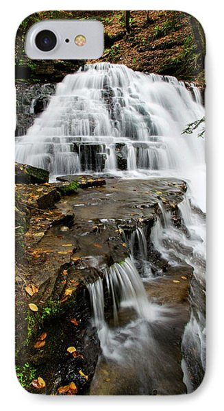 IPhone Case featuring the photograph Salt Springs Waterfall by Christina Rollo