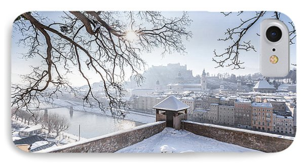 Salzburg Winter Dreams IPhone Case by JR Photography