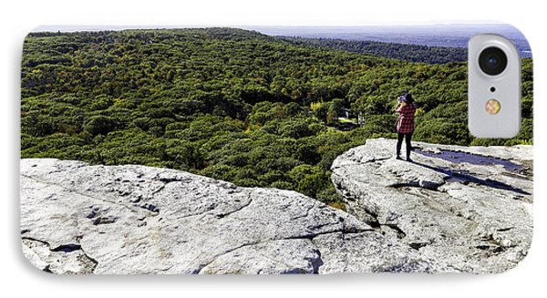 Sams Point Overlook IPhone Case by Fran Gallogly