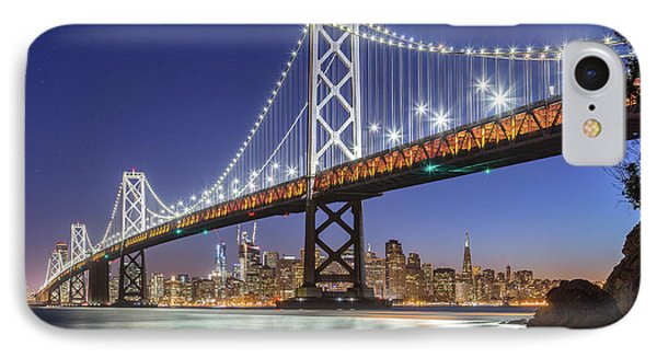 San Francisco City Lights IPhone Case by JR Photography