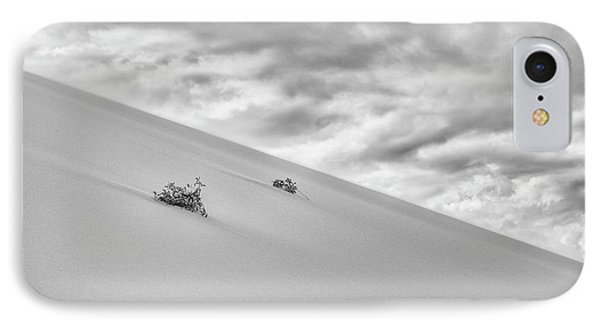 IPhone 7 Case featuring the photograph Sand And Clouds by Hitendra SINKAR
