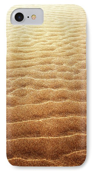 Sand Background IPhone Case by Carlos Caetano