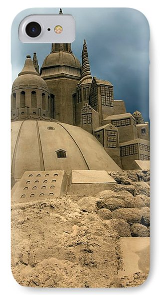 Sand Castle IPhone Case by Sophie Vigneault