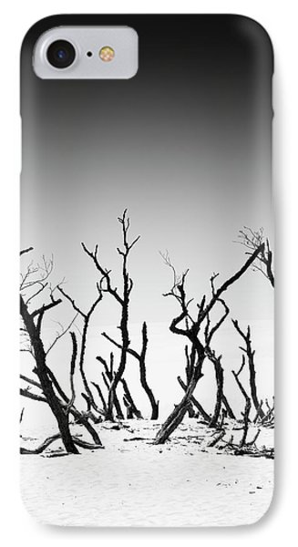 IPhone Case featuring the photograph Sand Dune With Dead Trees by Chevy Fleet