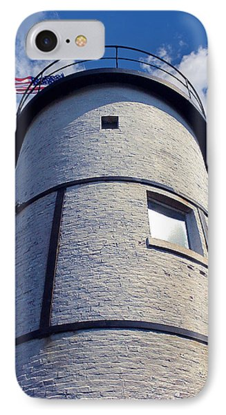 Sandy Neck Lighthouse Phone Case by Charles Harden