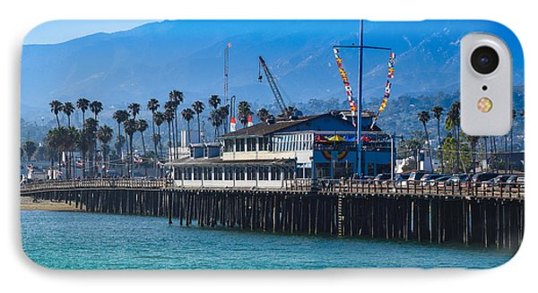 IPhone Case featuring the photograph Santa Barbara Pier by Dany Lison