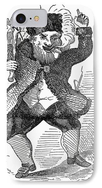 Santa Claus, 1849 Phone Case by Granger