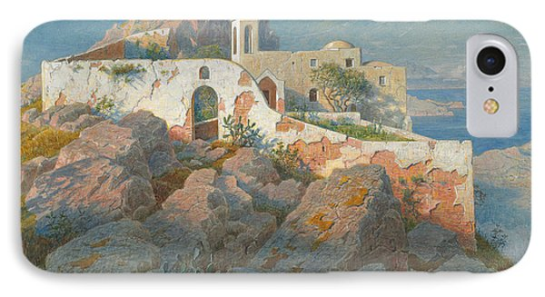 Santa Maria A Cetrella  Anacapri IPhone Case by William Stanley Haseltine