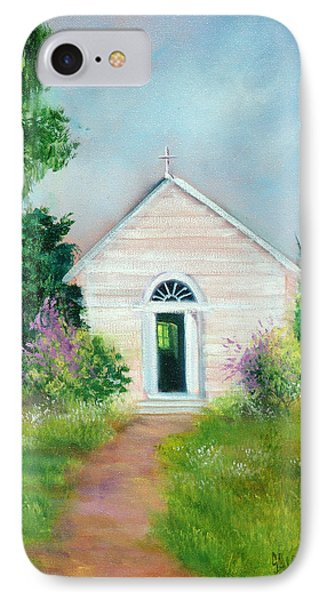 Santa Rosa Chapel Phone Case by Sally Seago