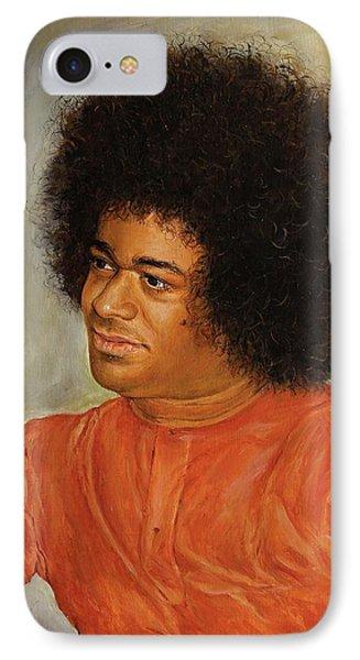 Sathya Sai Baba IPhone Case by Eva Santi