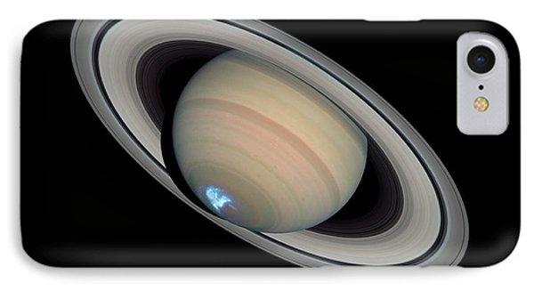 Saturns Dynamic Aurora IPhone Case