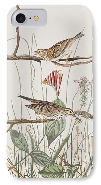Savannah Finch IPhone 7 Case by John James Audubon