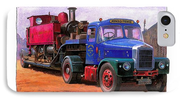 Scammell Highwayman. Phone Case by Mike  Jeffries