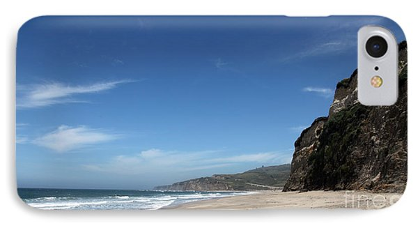 Scott Creek Beach California Usa Phone Case by Amanda Barcon