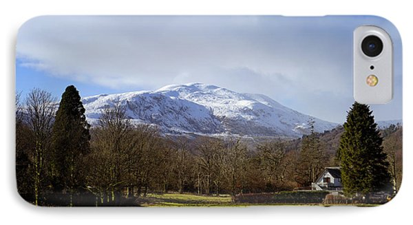 IPhone 7 Case featuring the photograph Scottish Scenery by Jeremy Lavender Photography