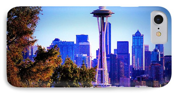 Seattle Afternoon IPhone Case by Martin Cline