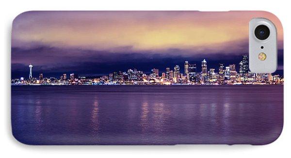 Seattle From Alki Phone Case by Tanya Harrison