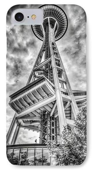 Seattle Space Needle IPhone Case by Spencer McDonald