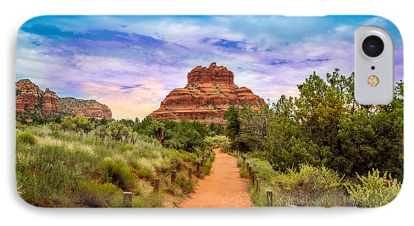 Sedona Landscape  IPhone Case by Jon Manjeot