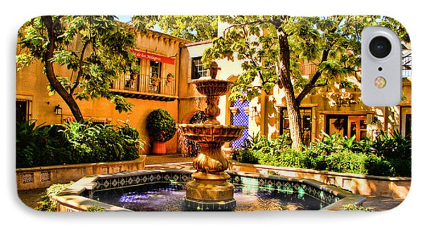 Sedona Tlaquepaque Shopping Center IPhone Case by Jon Berghoff