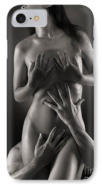 Sensual Photo Of Man And Woman Phone Case by Oleksiy Maksymenko