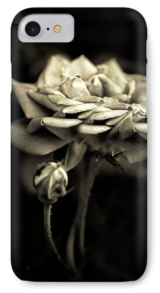 Sepia Rose IPhone Case by Jessica Jenney