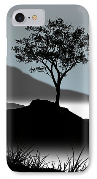 Serene Phone Case by Chris Brannen