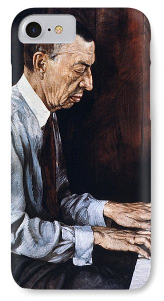 Sergei Rachmaninoff Phone Case by Granger