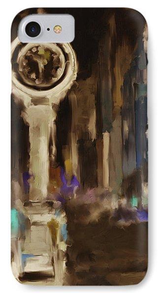 Seth Thomas Clock Ny 562 4 IPhone Case