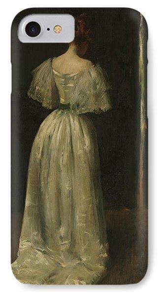 Seventeenth Century Lady IPhone Case by William Merritt Chase
