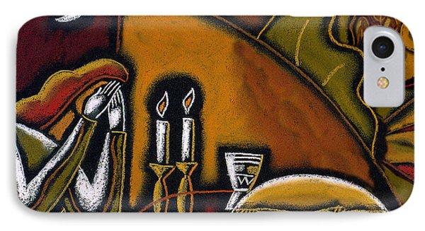 Shabbat Shalom IPhone Case by Leon Zernitsky