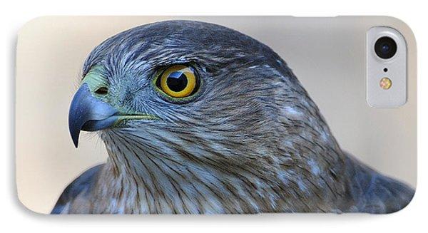 Sharp-shinned Hawk IPhone Case
