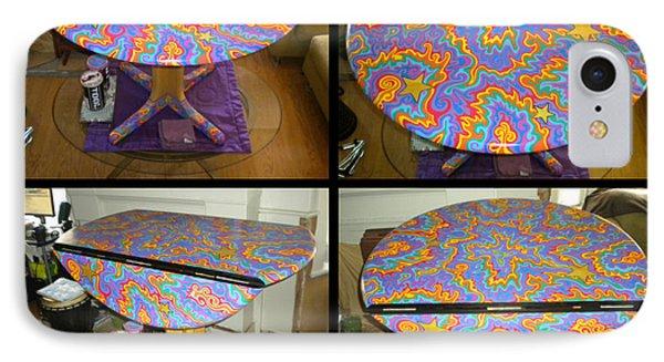Sharpie Star Table Phone Case by Mandy Shupp