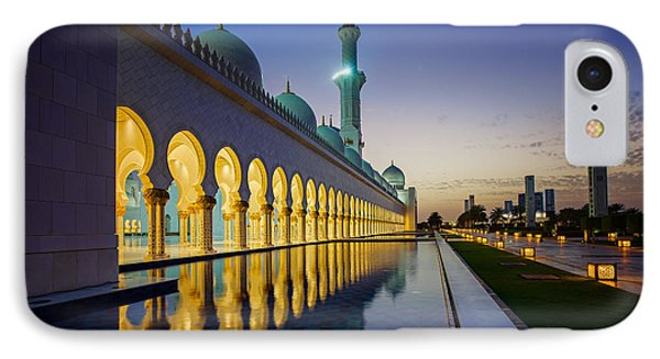 Sheikh Zayed Grand Mosque IPhone Case by Ian Good