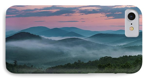 IPhone Case featuring the photograph Shenandoah Sunrise by Kevin Blackburn