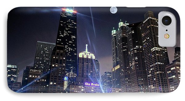 Shining Bright In Chicago IPhone Case
