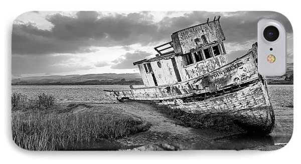 Shipwrecked In Point Lobos IPhone Case