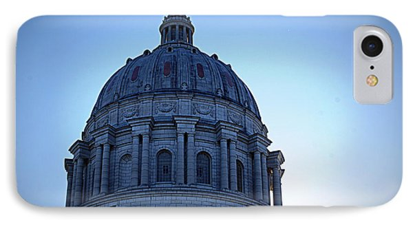 Show-me State Capitol Phone Case by Cricket Hackmann