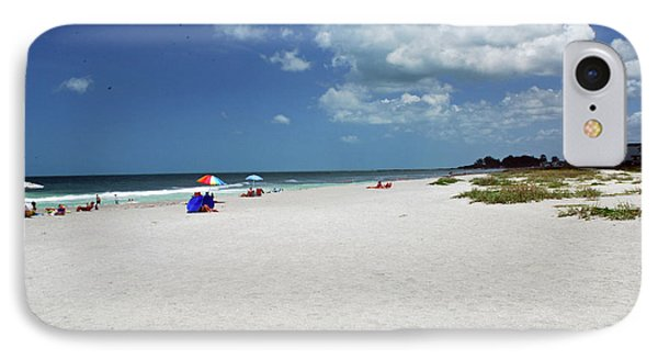 IPhone Case featuring the photograph Siesta Key Beach by Gary Wonning